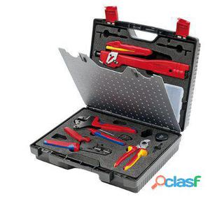 Knipex Maleta de herramientas para aplicaciones