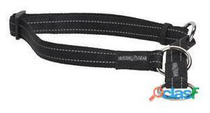 Kruuse Collar medio Buster Reflectante Negro 15 x 280-400 mm