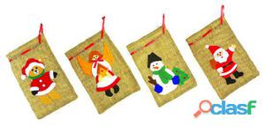 Legler Sacos De Yute Para Navidad