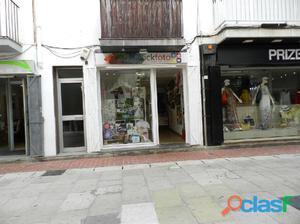 Local comercial en alquiler en el centro de la zona peatonal
