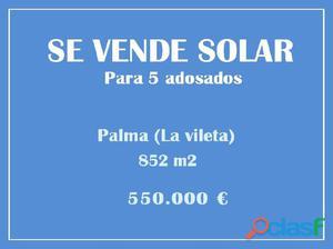 Mallorca Next Properties - SE VENDE Solar con licencia de