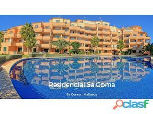 Mallorca, Sa Coma, Apartamento de 3 Dormitorios en Planta