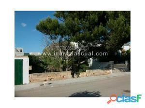 Mallorca, Son Serra de Marina, solar en segunda línea de