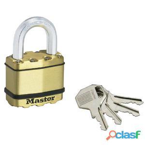 Master Lock Candado Excell latón macizo 52 mm M5BEURD