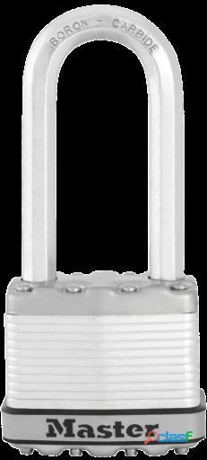 Masterlock Candado Excell 52mm acero laminado arco largo