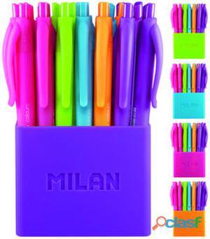 Milan Bote 24 Bolígrafo Touch Colours 210 gr