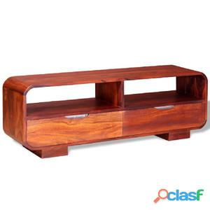 Mueble para TV de madera maciza sheesham 116x30x40 cm