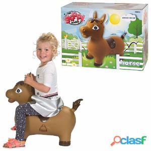 My Skippy Buddy Animal hinchable Horse marrón KH1-63