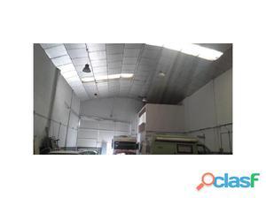 Nave industrial situada en el polígono Charca Musia.