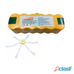 Pack Roomba serie 500, 600 y 700: Bateria 4500 mAh + 1