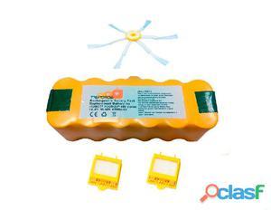 Pack Roomba serie 700: Bateria 4500 mAh + 2 Filtro Hepa +