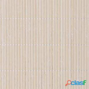 Papel tapiz de bambú 1,5x10 m natural