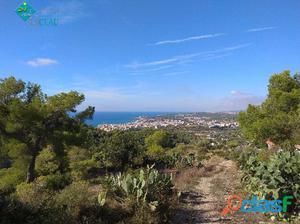 Parcela en venta en Sitges zona Quint Mar, con vistas al mar
