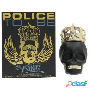 Police Perfume To Be The King para hombres 125 ml