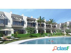 Promoción de casas adosadas de nueva construcción en venta