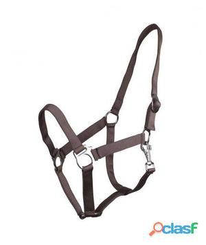 QHP Cabezada Ajustable antracita pony
