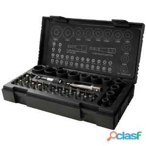 RODAC Juego de llaves vaso impacto y puntas 41 piezas RA8687
