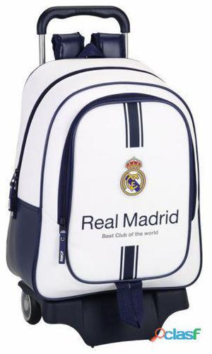 Real Madrid Mochila Grande Con Ruedas 1 Equipación 16-17