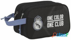 Real Madrid Neceser 2 Cremalleras Adaptable Carro Real