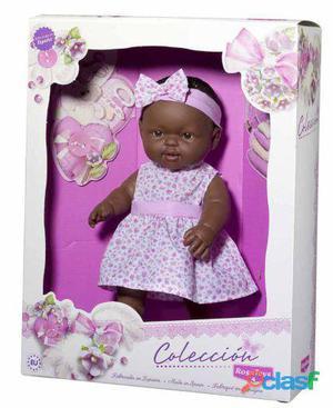 Rosa Toys Muñeca Colección Negra 30 Cm