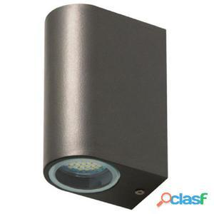 SMARTWARES Lámpara de pared LED bidireccional 6 W gris