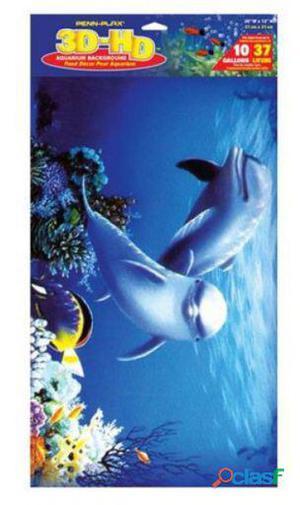 Sandimas Póster Acuario 3D Delfines