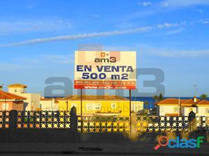 Se vende parcela con 500 m2 en Las Marinas de Vera.