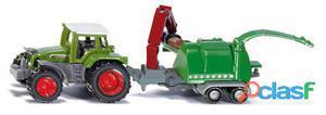 Siku Tractor Con Destrozador 76 gr