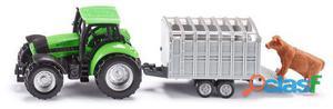 Siku Tractor Con Remolque 94 gr