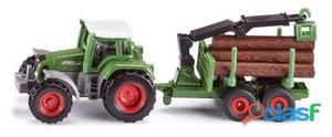 Siku Tractor Con Remolque Forestal 50 gr