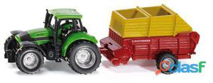 Siku Tractor Con Remolque Poettinger 89 gr