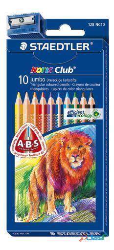 Staedtler Estuche 10 Lapices De Colores Jumbo Staedtl