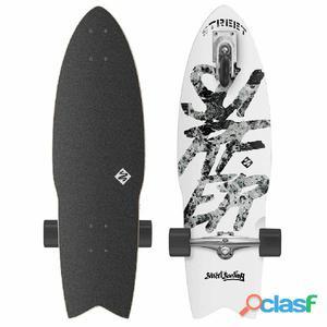 Street Surfing Tabla de skate Shark Attack 76 cm gran blanco