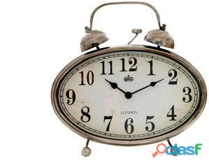 Sukima Decor Reloj Sobremesa Vintage Oval 29 Cm 11.5 kg