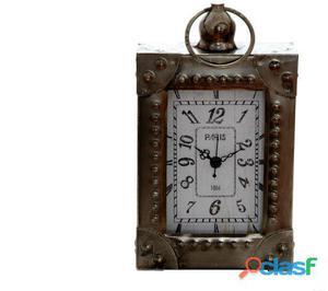 Sukima Decor Reloj Sobremesa Vintage Rectan 21Cm 13 kg