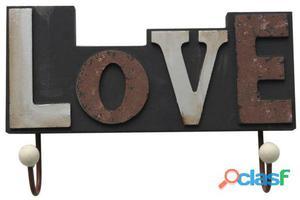 Superstudio Colgador decorativo 2 ganchos love-