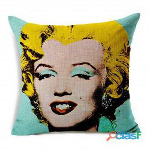 Superstudio Funda de Cojín marilyn pop algodón 45x45 200