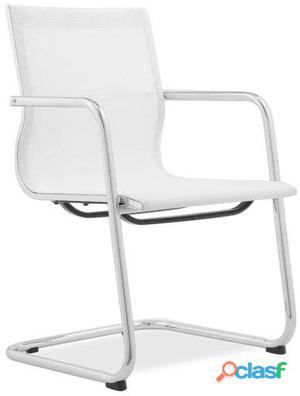 Superstudio Silla de oficina metting -mesh screen blanco 13