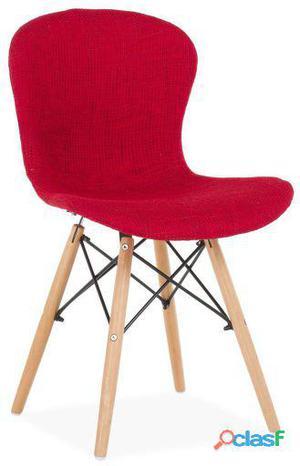 Superstudio Silla shell-rojo inspiración dsw de charles &