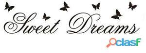 Superstudio Vinilo decorativo sweet dreams -120x28 negro
