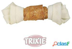 Trixie 2 DentaFun huesos anudados pollo, 11 cm, 70 GR