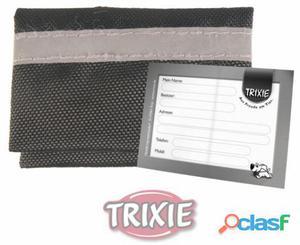 Trixie Bolsa Portadirección Nylon, Reflectante, 5.5x4 Cm