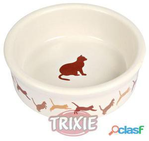Trixie Comed. Cerámico Gatos, Motivos 11 cm