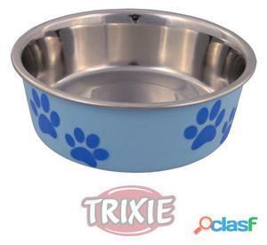Trixie Comedero Acero Inoxidable Recubierto Plástico 0.25 L