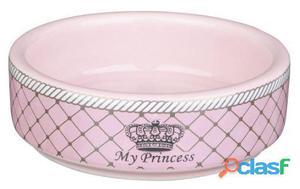 Trixie Comedero Cerámica Myprincess Hámster Rosa 8 cm
