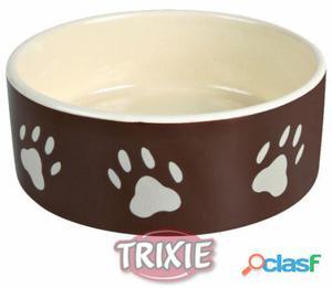 """Trixie Comedero Cerámico """"Huellas"""" 16 cm"""