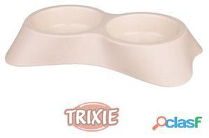 Trixie Comedero Plástico Doble Antides