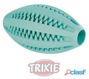 Trixie DentaFun Rugby, menta, caucho, 11 cm