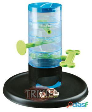 Trixie Dog Activity Tricky Tower, Ø 27 x 28 Cm, Nivel 3
