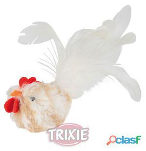Trixie Gallina Blanca Con Catnip Y Sonido 8 cm